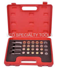 64pcs Oil Pan Drain Plug Thread Repair Set