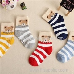 Graphic Cotton Socks Product Product Product