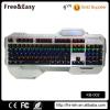 High quality wrist rest led backlit mechanical gamer keyboard
