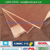 Marine grade 28mm keruing plywood use for container flooring repair