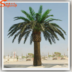 Outdoor artificial date palm tree fake palm trees decorative large install tree