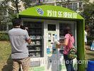 Big Capacity Credit Card Pay / Coin Operated Vending Machines for Vegetable