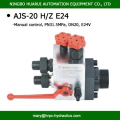 AJ combination valve for accumulator control
