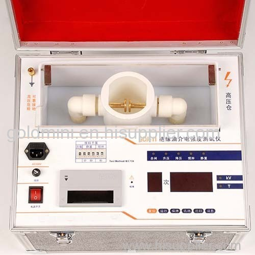 Insulating Oil Dielectric Strength Tester
