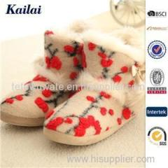 Plush Snow Boots Product Product Product