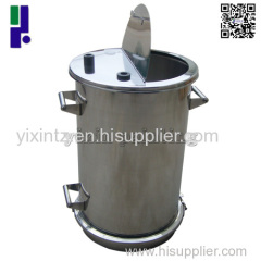 Stainless Steel Powder Container Keg