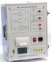 Transformer Insulating Oil Power Factor and Tan Delta Tester