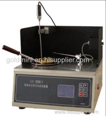 Petroleum product Open Cup Flash Point Tester