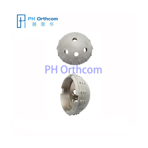 Cementless Metal Acetabular Cup for Total Hip Prosthesis Metal Shell for Arthroplasty Medical Implant for Hip