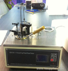 Petroleum product Semi-auto PMCC Flash Point Tester
