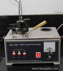 Petroleum product PMCC Flash Point Tester