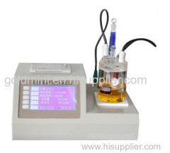 Petroleum Product Coulometric Karl Fischer Titrator
