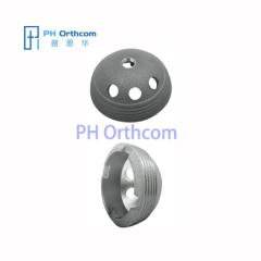 Металлический корпус с га накатом для эндопротезировании тазобедренного протеза Бесцементной чашки Эндопротезировании титановых медицинских имплантатов