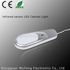 Inner cabinet light with IR sensor switch