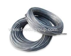 galvanized / ungalvanized wire rope