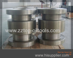 Wellhead X-tree casing head housing