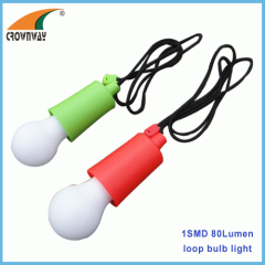 SMD plastic bulb lamp home loop light loop ABS durable outdoor lantern stick up loop bulb lamp