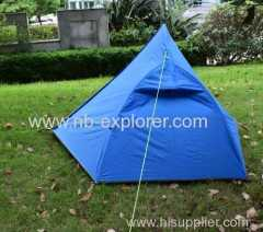 Light weight backpacking tent for 1 person