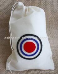 Cotton Pouch/ Muslin Bag/ Coin Bag/ Flour Bag/ Small Drawstring Bag
