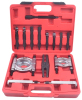 14pcs Bearing Puller Separator Tool Kit Splitter Jaw Adaptor Set