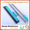 Factory setting floor loading docks uneven surface cleaning wiper rubber blade/foam squeegee