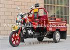 Electrical Kick Motorized Cargo Trike Three Wheel Motorcycle Engine Air Cooled Single Cylinder