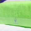 Wholesale100% cotton white hotel face towel 150g hand towel
