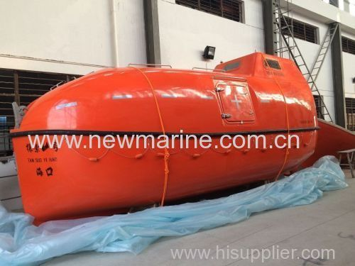 Totally enclosed lifeboat common type