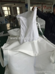 Jumbo Bag with Four Loops for Packing chemicals