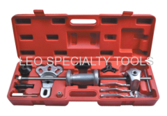 Slide Hammer Dent Puller Tool Kit Wrench Adapter Axle Bearing Hub Auto Set