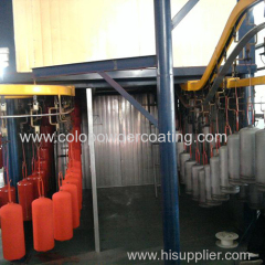 Automatic Powder Coating Machine for Fire Extinguisher