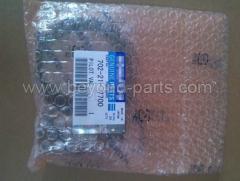 Komatsu spare parts PC650-8 pilot valve assy pump solenoid valve 702-21-57700