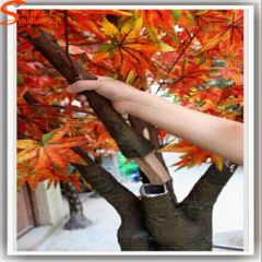 artificial maple tree red maple tree ornamental tropical plants decorative artificial trees and plants
