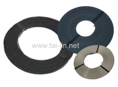Oil tank titanium ribbon anode coating with mixed metal oxide