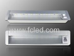 Recessed Led cabinet light bar with PIR sensor