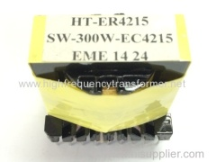 ER power transformer/high frequency transformer