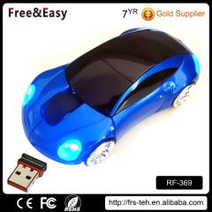 RF wireless gift Porsche car mouse mini