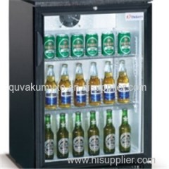 850mm Height Glass Door Back Bar Cooler