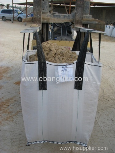 Top open double line reinforced big bag