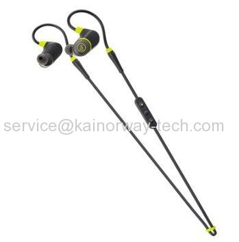 Audio Technica ATH-SPORT4 Sonicsport Bluetooth Wireless In-Ear Headset Earphones Black