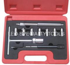 10 pcs Diesel Injector Seat Cutter Set