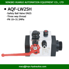 AQF safety ball valve