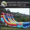 Blazer wave dual lane giant commerical inflatable slide