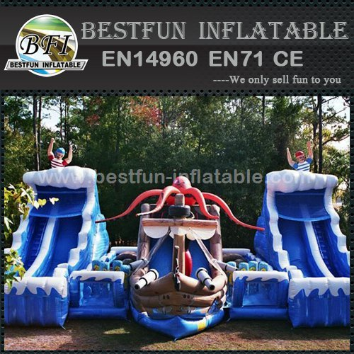 Original design inflatable pirate slide