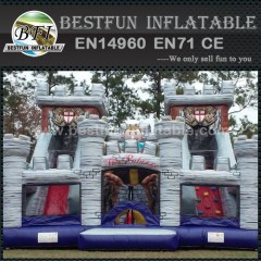 Customized Castles Inflatable Water Slide