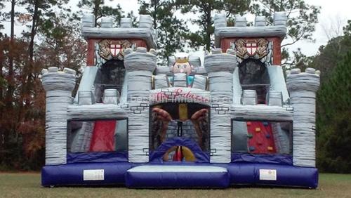 Royal Palace giant inflatable park slide for chidren