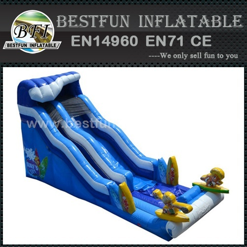 Playground used funny surf inflatable slide