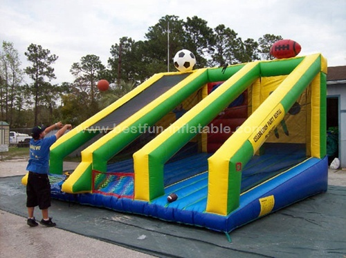 3 in 1 inflatable sports games commercial