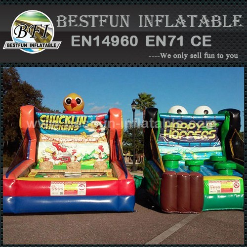 Inflatabe Chucklin Chickens game