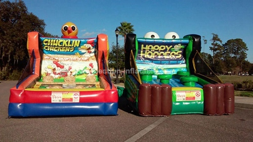 Chucklin Chickens Happy Hopper inflatable sport games